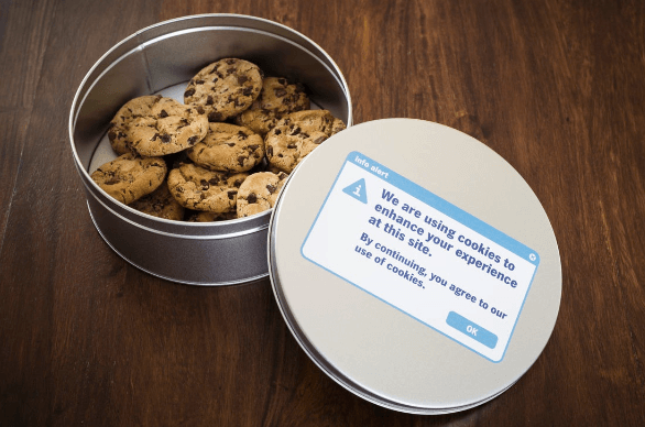 Image of humorous cookie tin